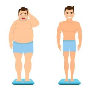 perte de poids sèche