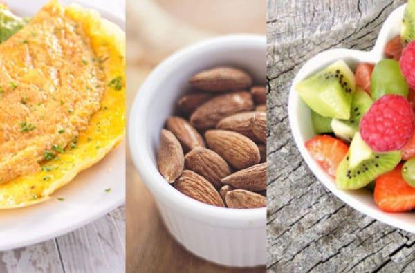 omelette amande fruit