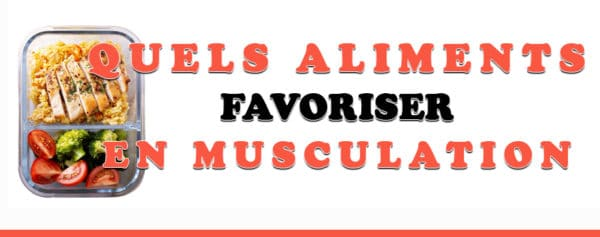 aliments musculation