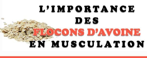 flocon avoine musculation