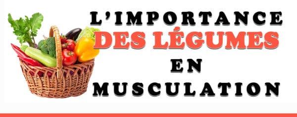 légumes musculation