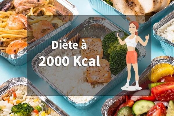diète à 2000 calories