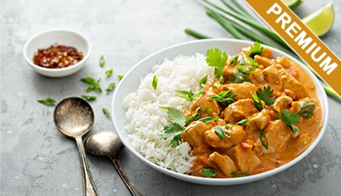 poulet au curry premium