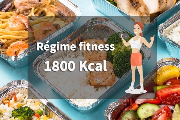 régime fitness 1800 calories